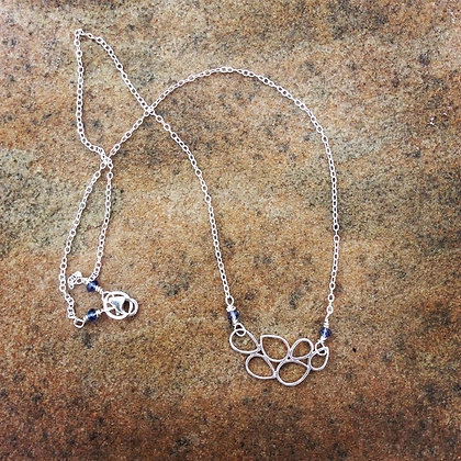 Sterling Bubbles Necklace