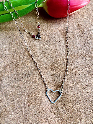 Sweet and Simple Love Necklace