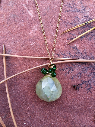 Easy Being Green Necklace