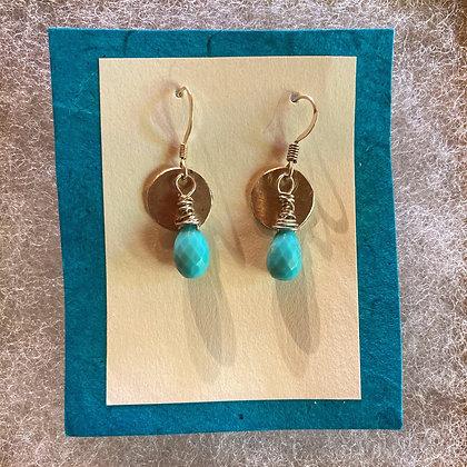 Turquoise Picnic Earrings