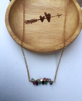 String of Lights (Goldfill) Necklace