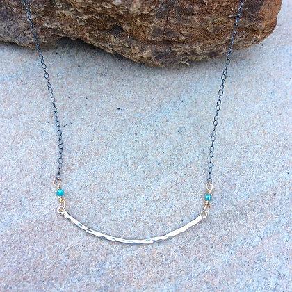 Sweet Slender Bar Necklace