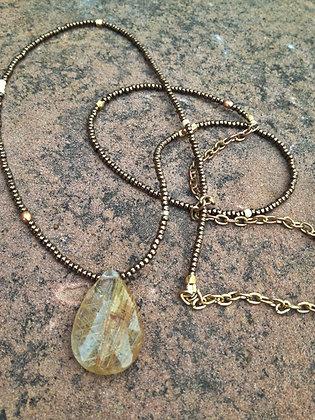 Tribal Quartz Necklace
