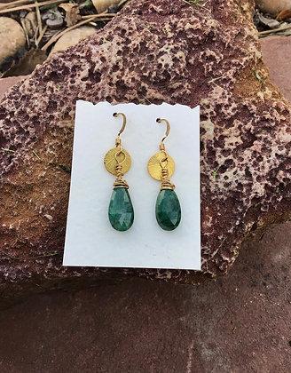 Emerald Everywhere Earrings