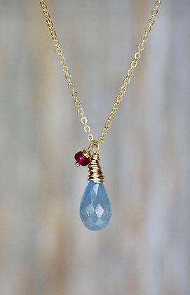 Drop of Rain Necklace