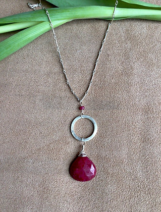 Rich & Regal Ruby Necklace