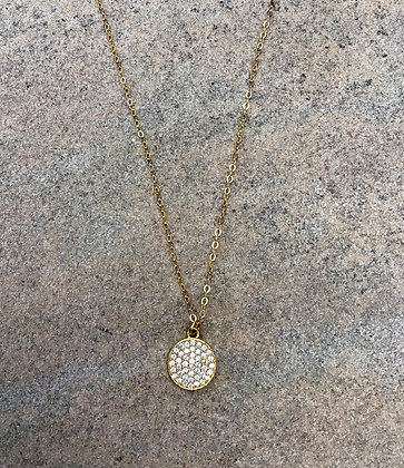 Sparkling Moon Necklace