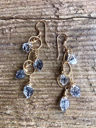 Icy Waterfall Earrings