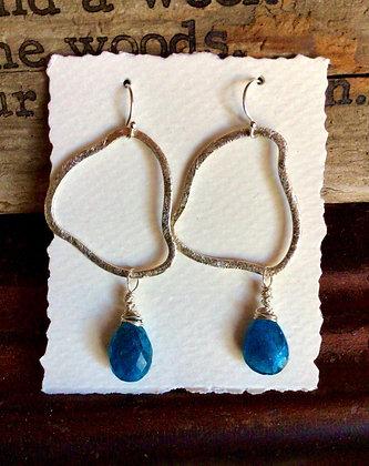 Strutting Peacock Earrings