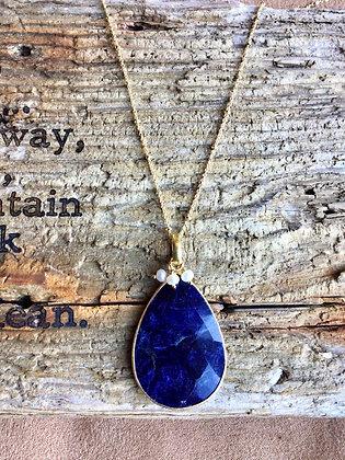 Royal Sapphire Necklace