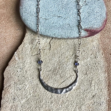 By the Light of the Silvery Moon Necklace
