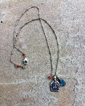 Kali the Warrior Talisman Necklace