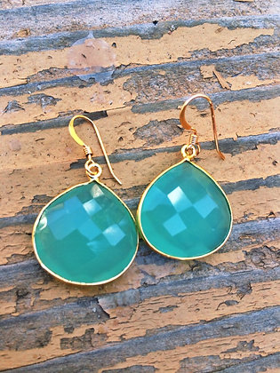 Sea of Green Earrings