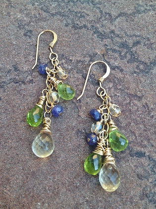 A Touch of Autumn Earrings