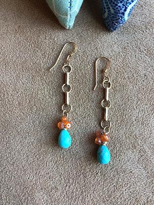 Southwest Sunburst Earrings
