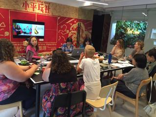 Brainstorming Food Heroes Curriculum with School Teachers