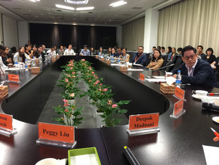 Touring Alibaba and Speaking at the Alibaba Leadership Academy