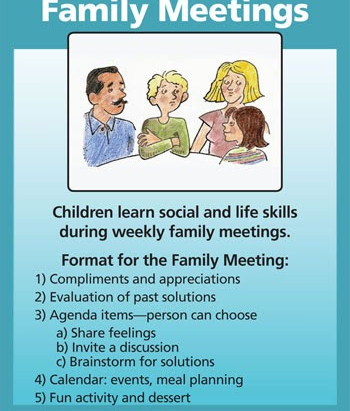 Family Meetings - Benefits and How To