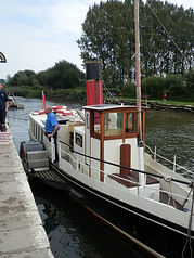 Paddle Steamer Monarch PS P S Monarch Wareham Dorset