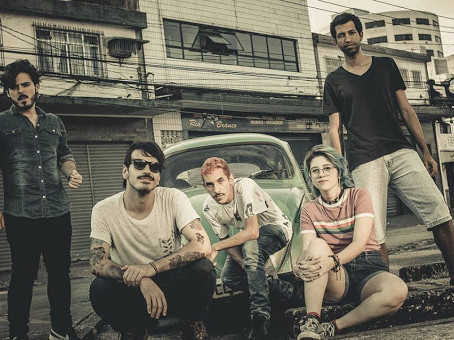 A banda alternativa de Santos