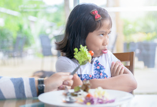 Meu filho não come frutas, verduras nem legumes