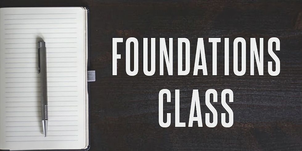 CT Foundations 2 weeks ( July 21/28 )