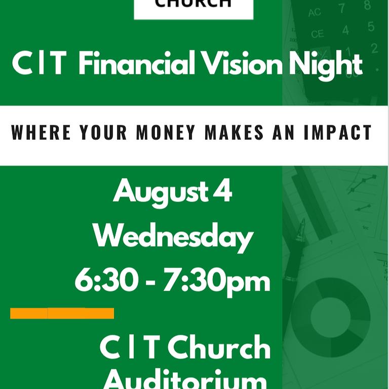 CT Financial Vision Meeting