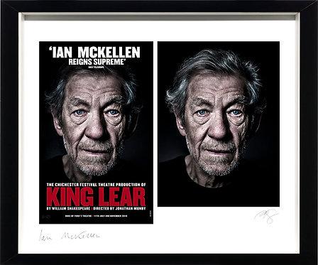 Ian McKellen Co-Signed - Artist Proof