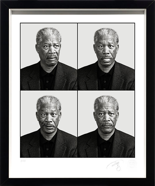 Morgan Freeman - Fine Art Print
