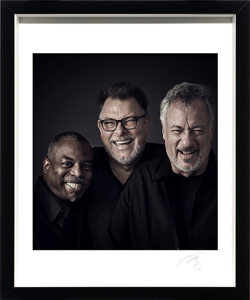 TNG : Levar Burton, Jonathan Frakes & John de Lancie