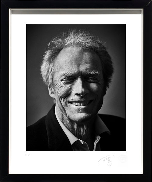 Clint Eastwood - Fine Art Print