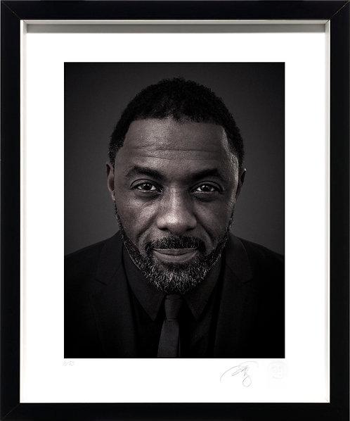 Idris Elba - Fine Art Print