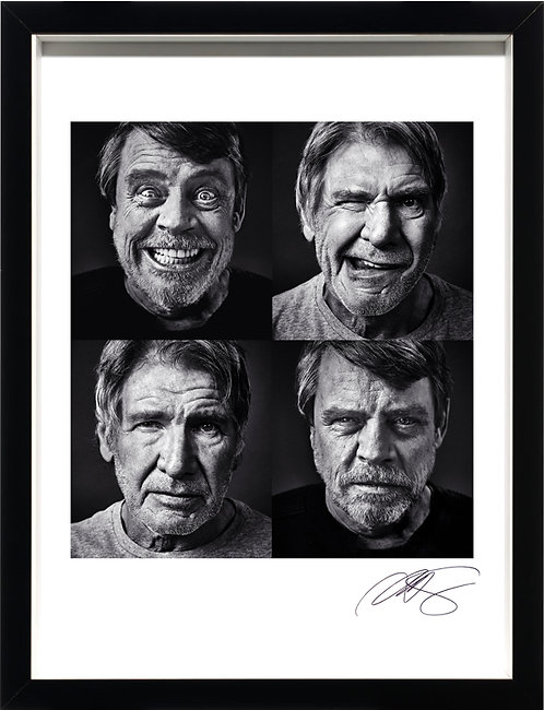 Harrison Ford & Mark Hamill