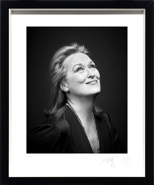 Meryl Streep - Fine Art Print