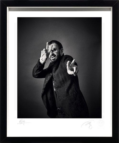 Co-Signed Ringo Starr - Fine Art Print