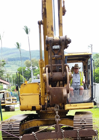 Tom's Backhoe and Excavation Maui