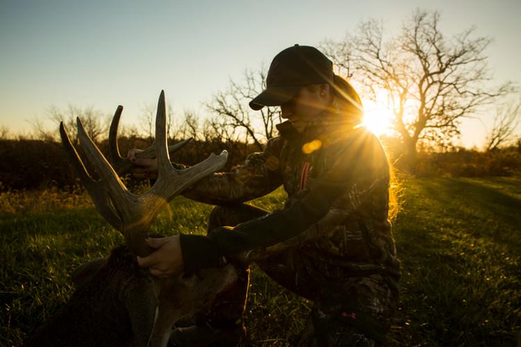 Female Deer Hunter