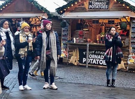 Talentos visited Sheffield