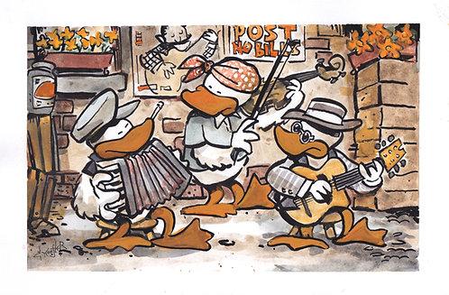 Gypsy Jazz Duck Trio