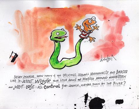 Snake Puppeteer