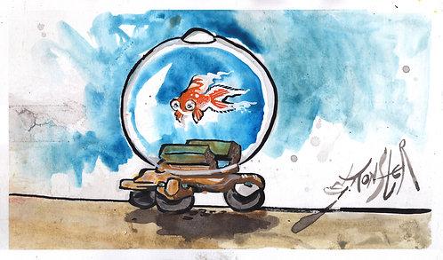 Deep Tech Fish Tank