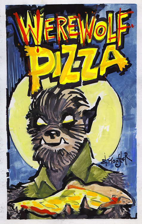 Werewolf Pizza
