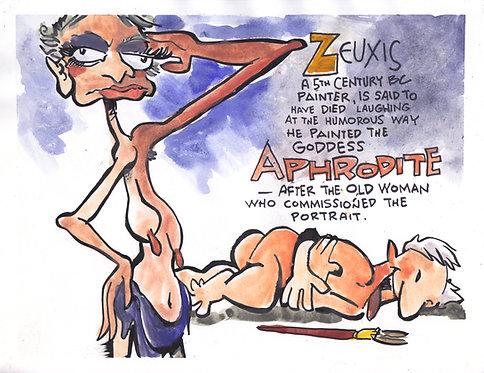 Zeuxis & Aphrodite
