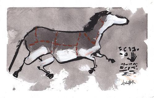 Lascaux BBQ -  Print