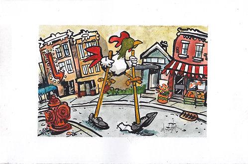 Chicken on Stilts #2