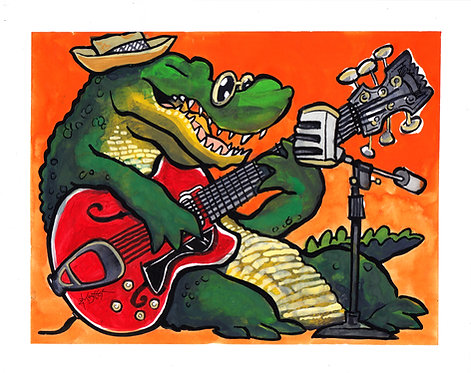 Alligator Open Mic