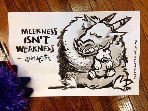 Meekness Isn't Weakness