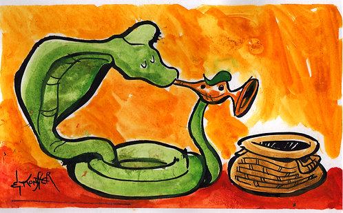 Snake Charmer - Print
