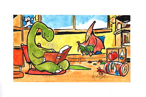 Dinosaur Story Time