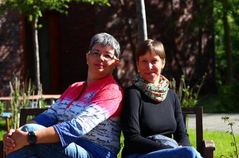 Jeanette König, Stephanie Zacharias (v.l.)